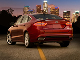 Pictures of Ford Fusion Titanium 2012