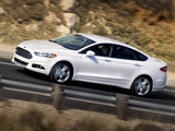 Pictures of Ford Fusion 2012