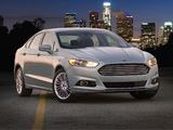 Pictures of Ford Fusion Hybrid 2012