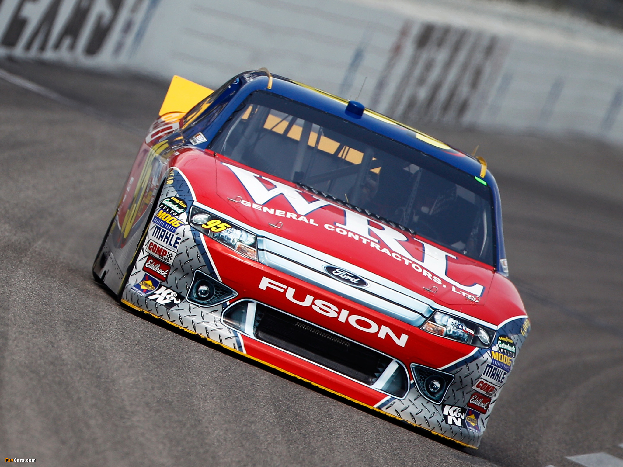 Ford Fusion NASCAR Sprint Cup Series Race Car 2009–12 wallpapers (2048 x 1536)