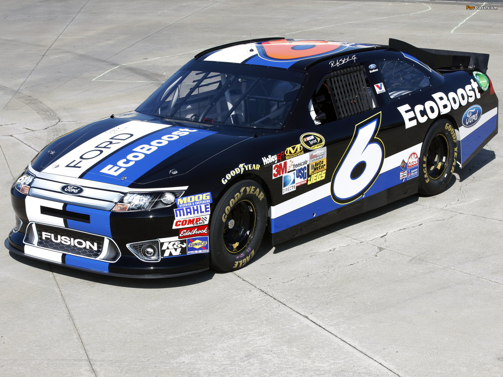 Ford Fusion NASCAR Sprint Cup Series Race Car 2009–12 wallpapers (1600 x 1200)