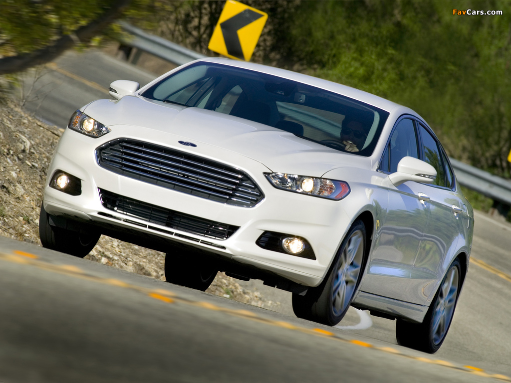 Ford Fusion 2012 wallpapers (1024 x 768)