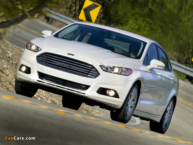 Ford Fusion 2012 wallpapers (640 x 480)