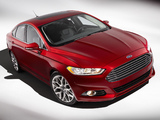 Ford Fusion Titanium 2012 wallpapers