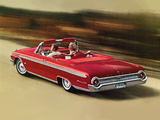 Ford Galaxie 500 XL Sunliner 1962 wallpapers
