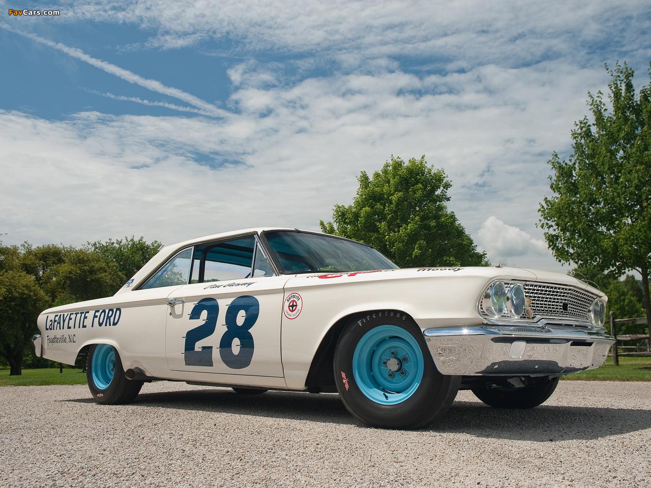 Ford Galaxie Race Car