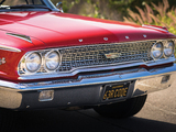 Ford Galaxie 500 R-code Fastback Hardtop (63B) 1963 wallpapers
