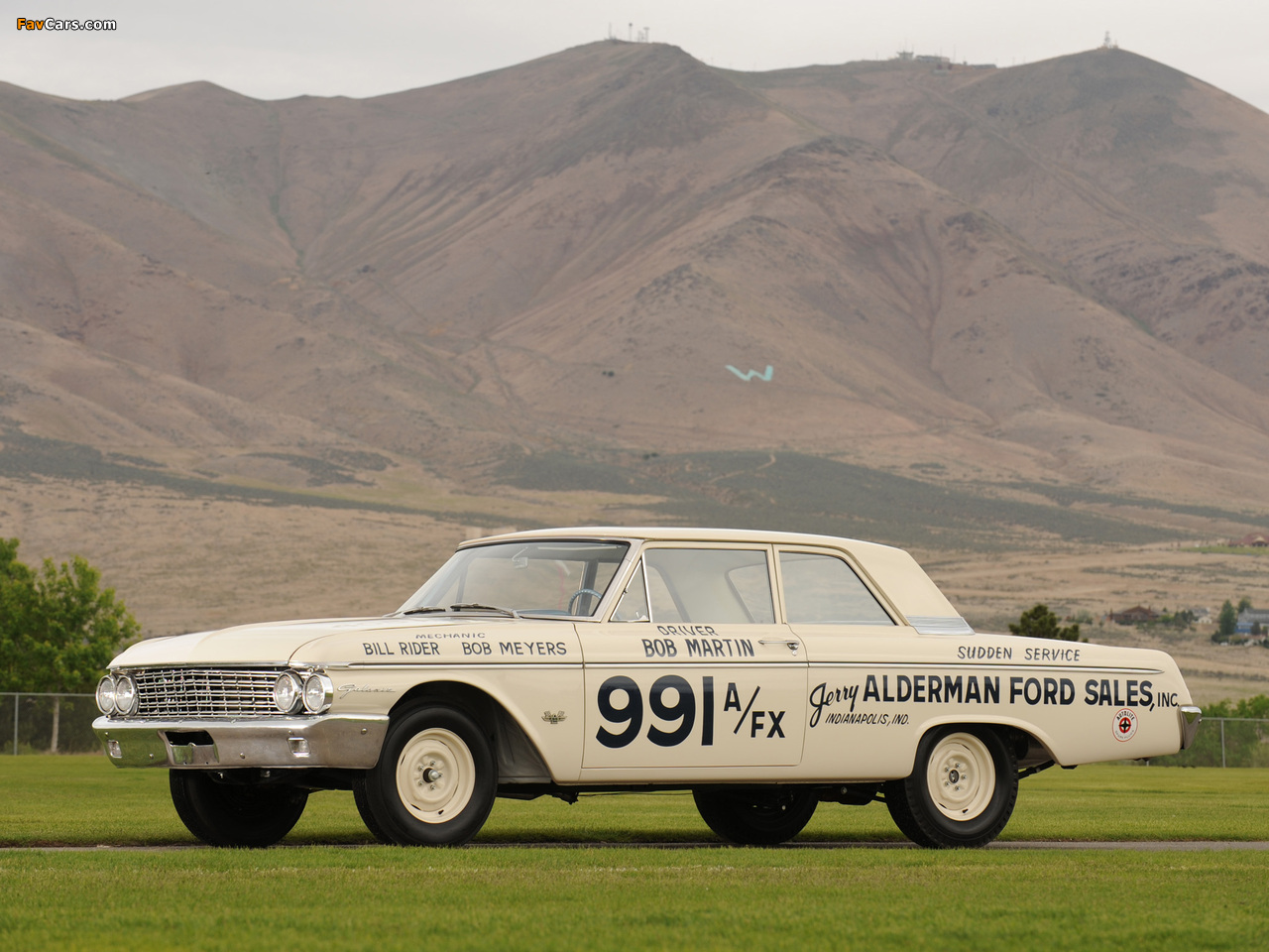 Pictures of Ford Galaxie 406 Lightweight 1962 (1280 x 960)