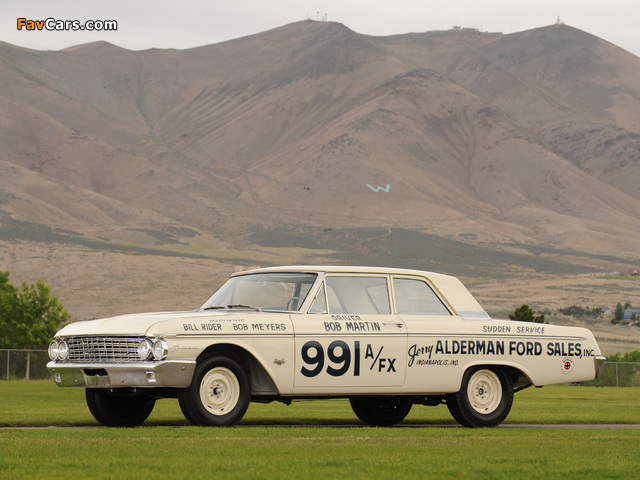 Pictures of Ford Galaxie 406 Lightweight 1962 (640 x 480)