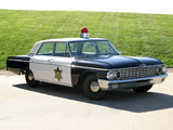 Ford Galaxie Town Sedan Police 1962 wallpapers