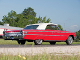 Ford Galaxie 500 XL Sunliner 1963 wallpapers