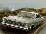 Ford Galaxie 500 4-door Sedan 1966 wallpapers