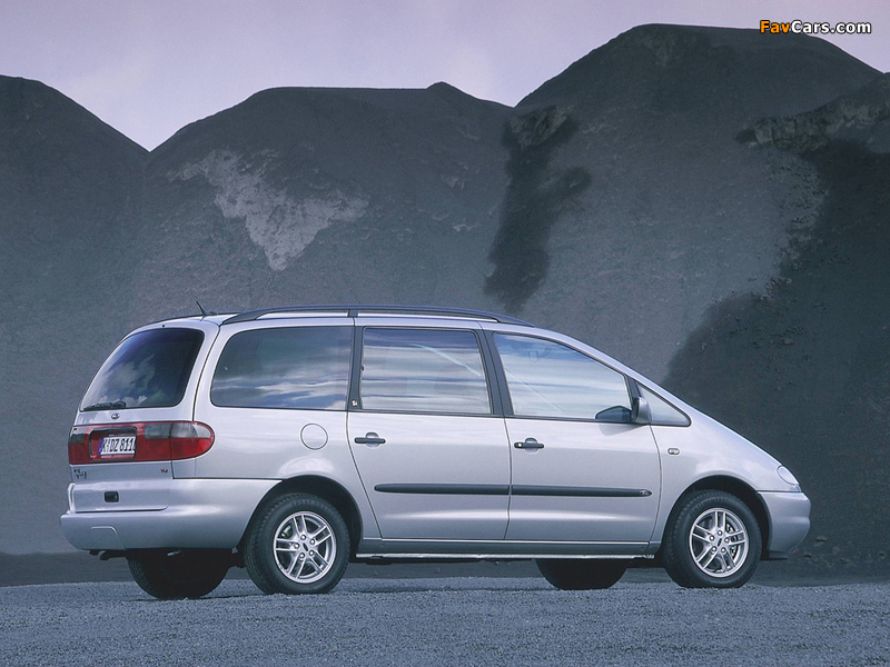 Ford Galaxy 1995–99 images (800 x 600)