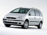 Ford Galaxy UK-spec 2000–06 images