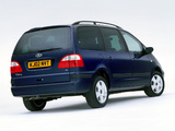 Ford Galaxy UK-spec 2000–06 wallpapers