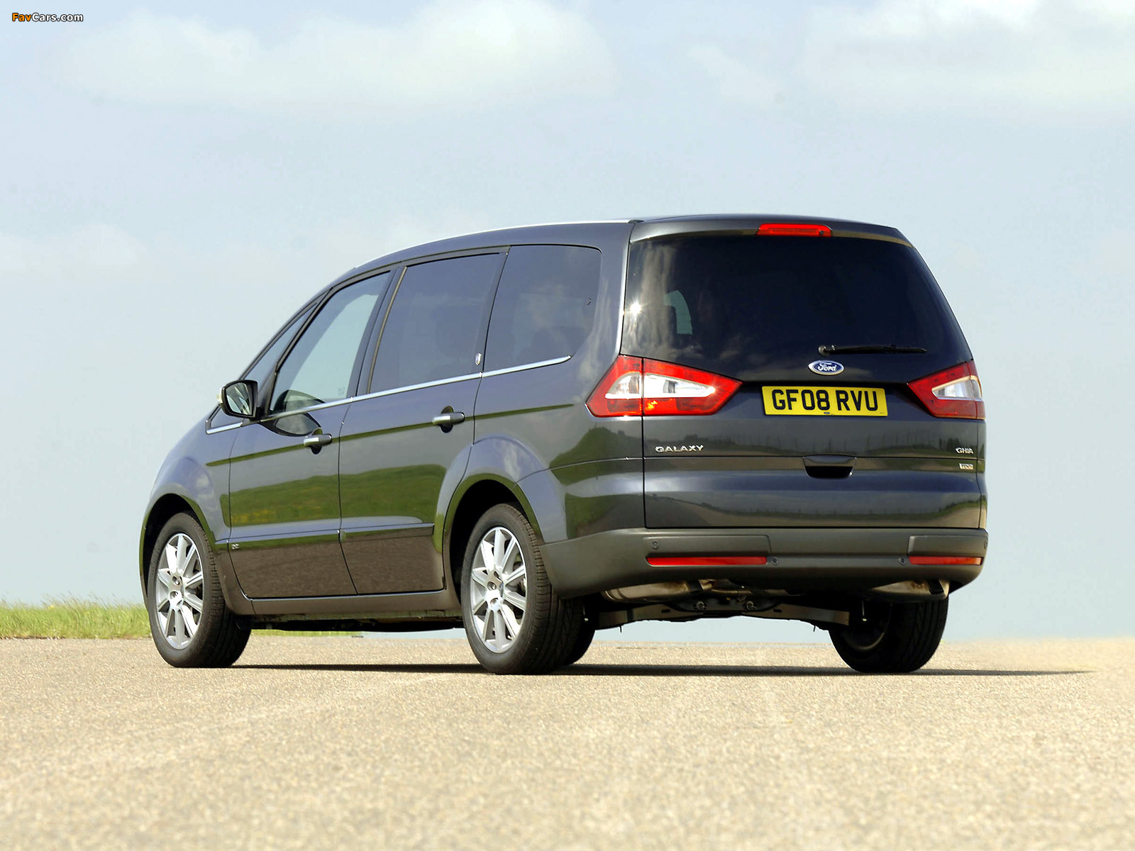 Ford Galaxy UK-spec 2006–10 wallpapers (1600 x 1200)