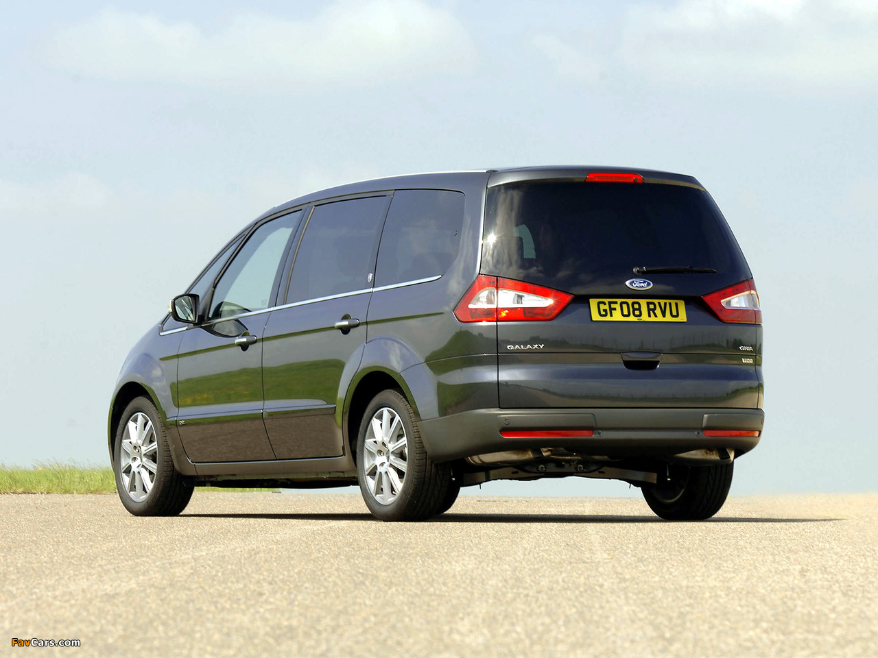 Ford Galaxy UK-spec 2006–10 wallpapers (1280 x 960)