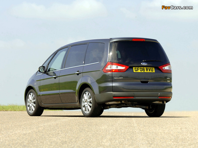 Ford Galaxy UK-spec 2006–10 wallpapers (640 x 480)