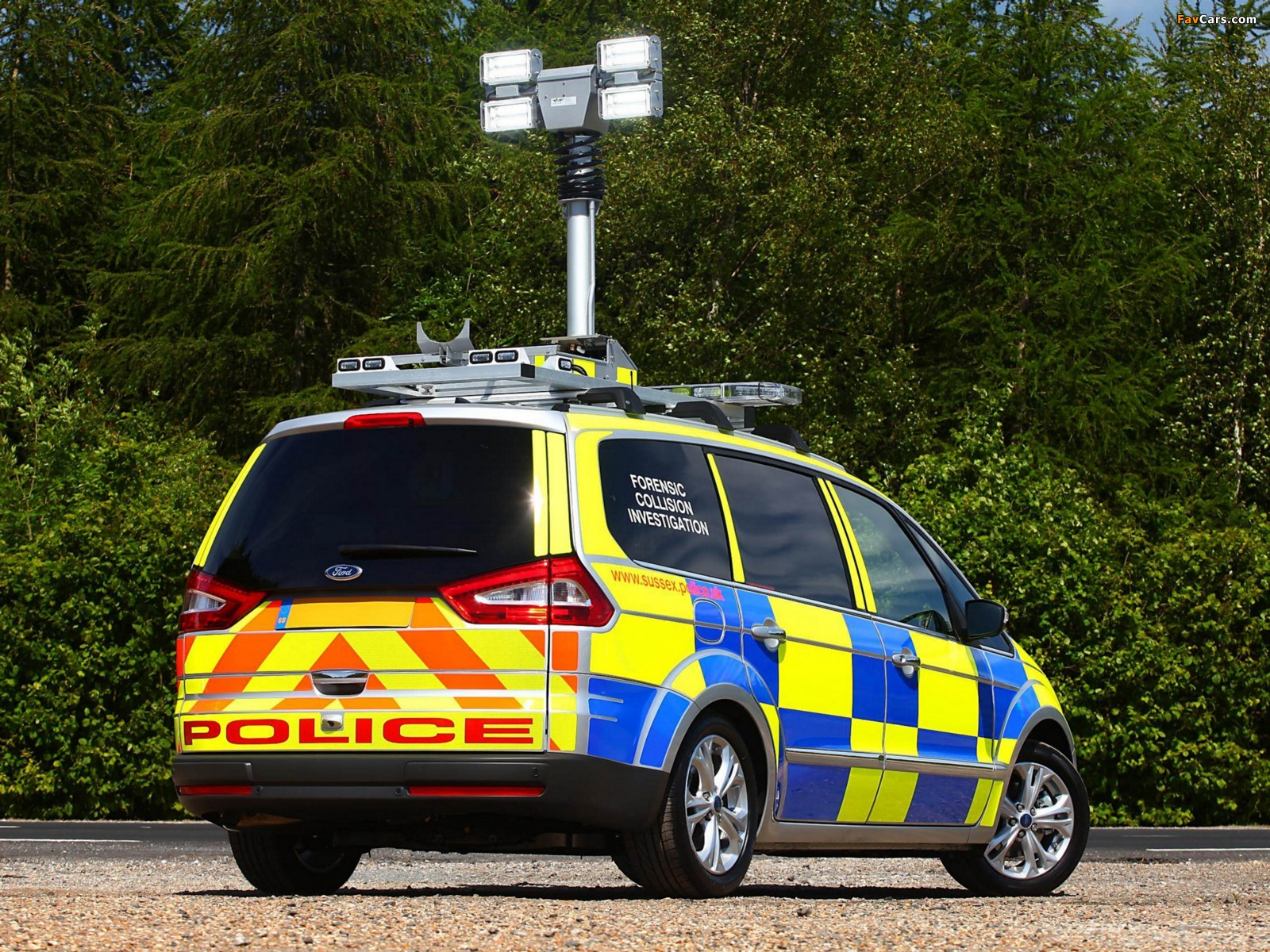 Images of Ford Galaxy Police 2010 (1600 x 1200)