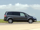 Photos of Ford Galaxy UK-spec 2006–10