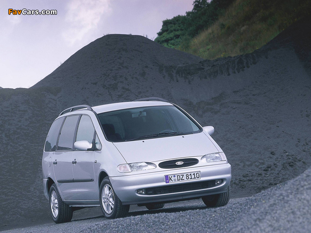 Pictures of Ford Galaxy 1995–99 (640 x 480)