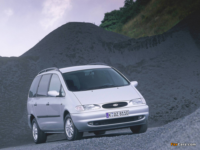 Pictures of Ford Galaxy 1995–99 (800 x 600)