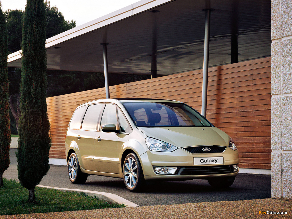 Pictures of Ford Galaxy UK-spec 2006–10 (1024 x 768)