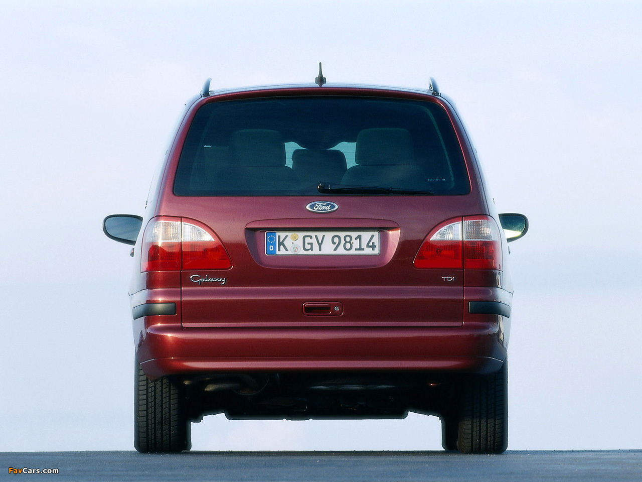 Ford Galaxy 2000–06 wallpapers (1280 x 960)