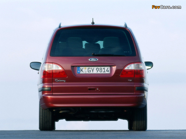 Ford Galaxy 2000–06 wallpapers (640 x 480)