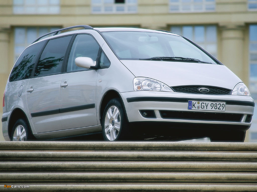 Ford Galaxy 2000–06 wallpapers (1024 x 768)