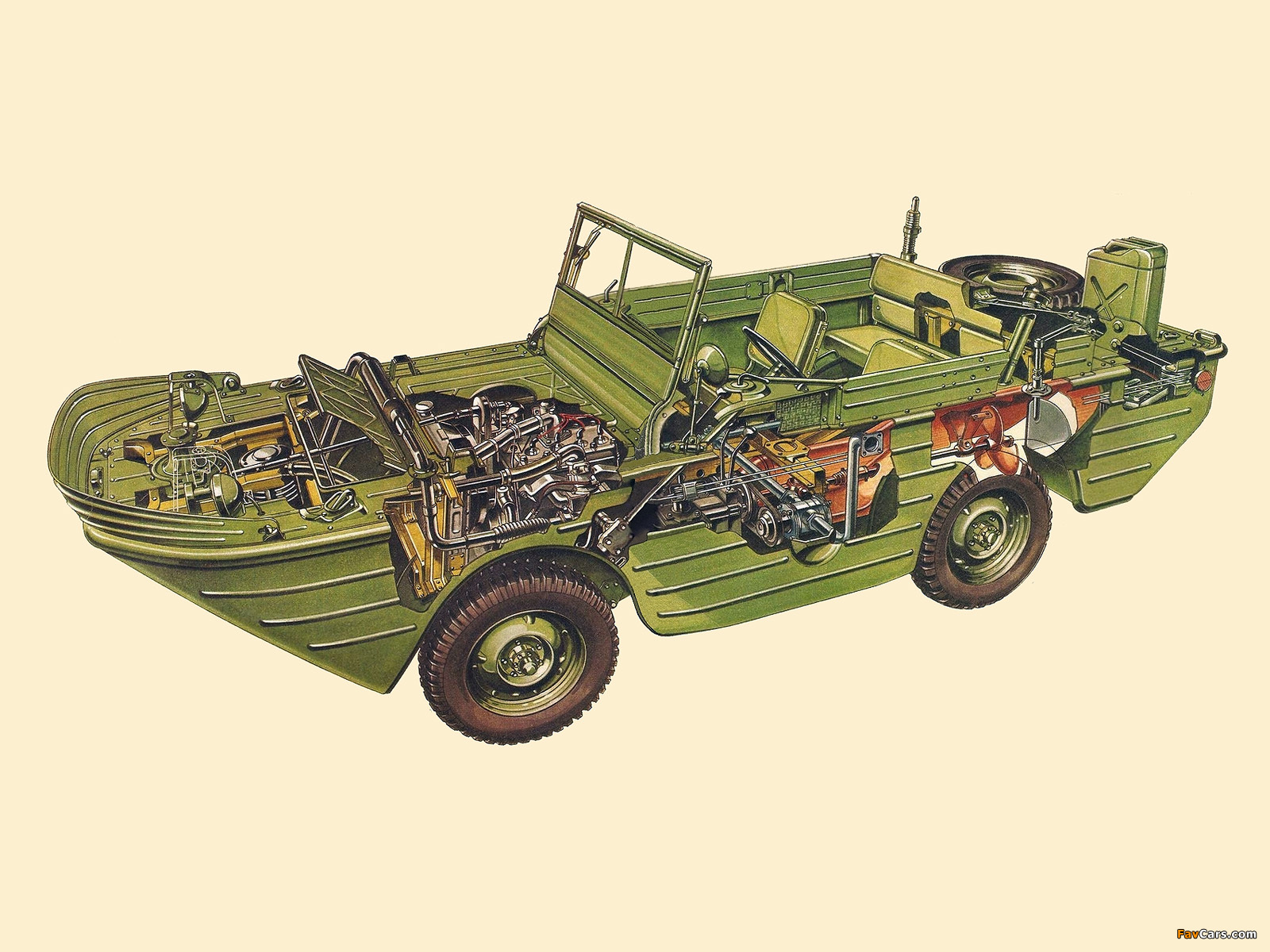 Images of Ford GPA 1942–43 (1600 x 1200)