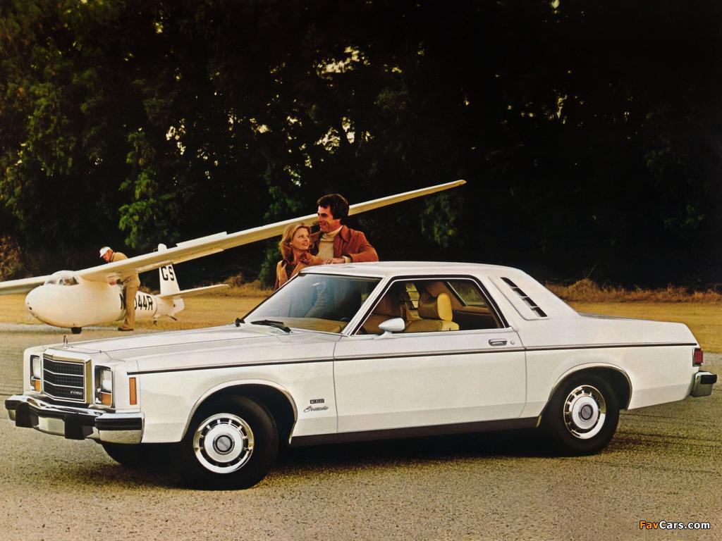 Ford Granada ESS Coupe 1978 photos (1024 x 768)