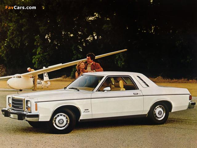 Ford Granada ESS Coupe 1978 photos (640 x 480)