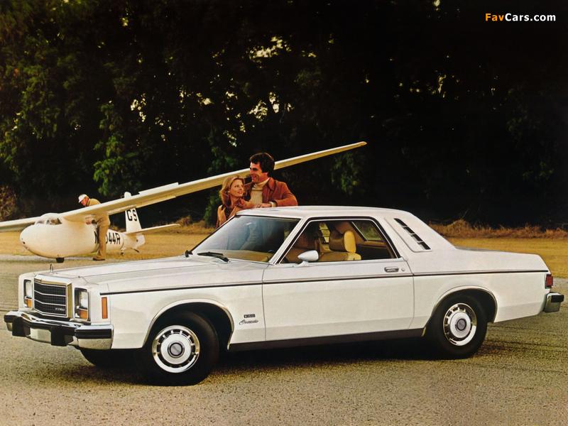 Ford Granada ESS Coupe 1978 photos (800 x 600)