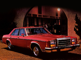 Ford Granada ESS Sedan 1980 pictures
