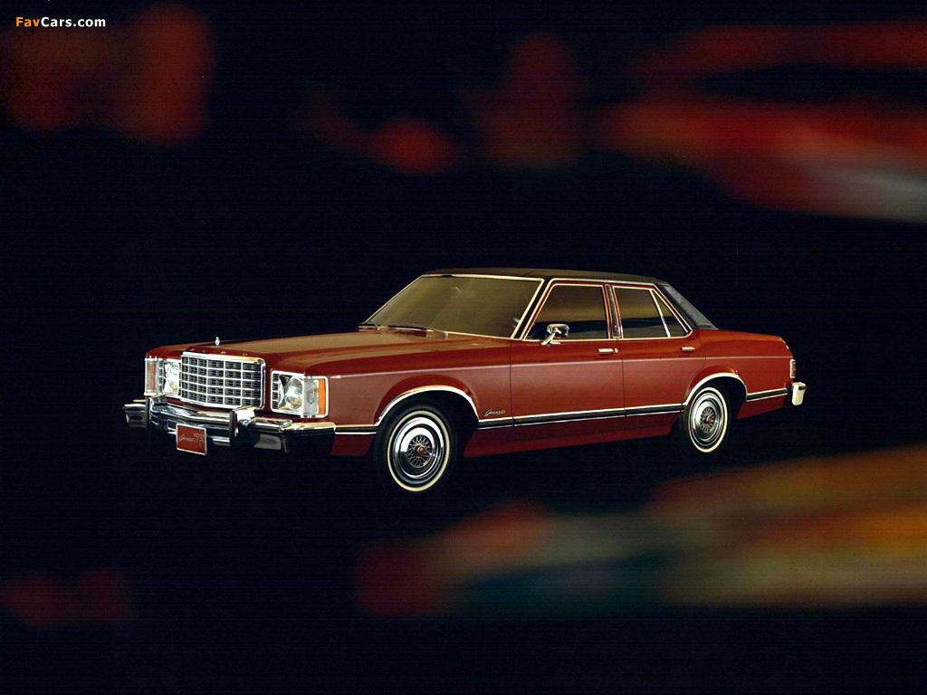 Pictures of Ford Granada Sedan 1975 (1024 x 768)