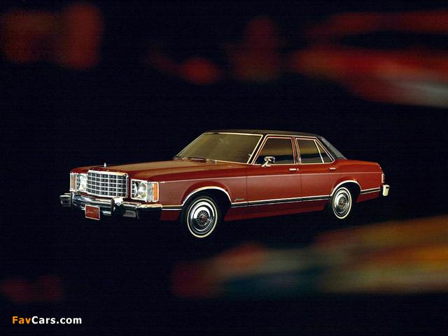 Pictures of Ford Granada Sedan 1975 (640 x 480)