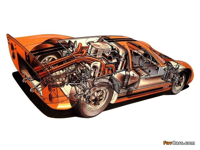 Ford GT40 (MkIV) 1967 photos (640 x 480)