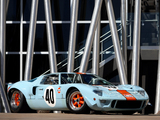 Ford GT40 Gulf Oil Le Mans 1968 pictures