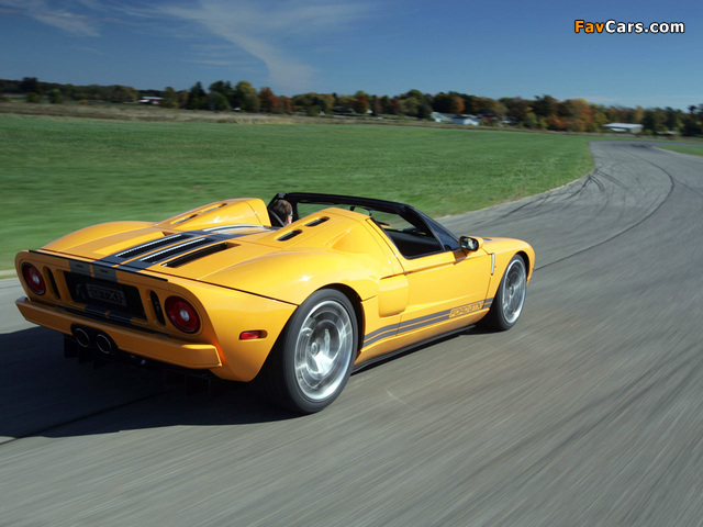Ford GTX1 Concept 2005 pictures (640 x 480)