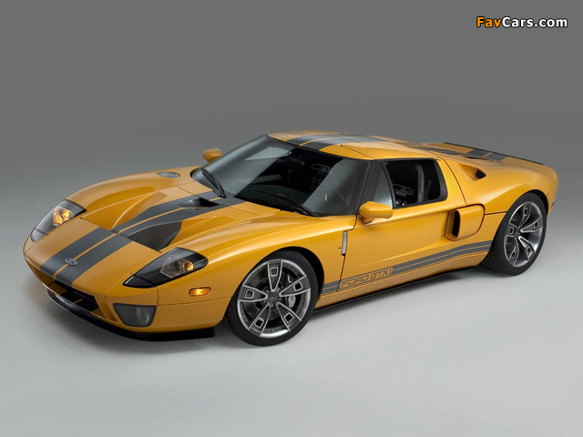 Ford GTX1 Concept 2005 wallpapers (640 x 480)