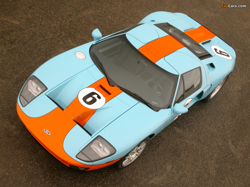 Ford GT Heritage 2006 wallpapers (1024 x 768)