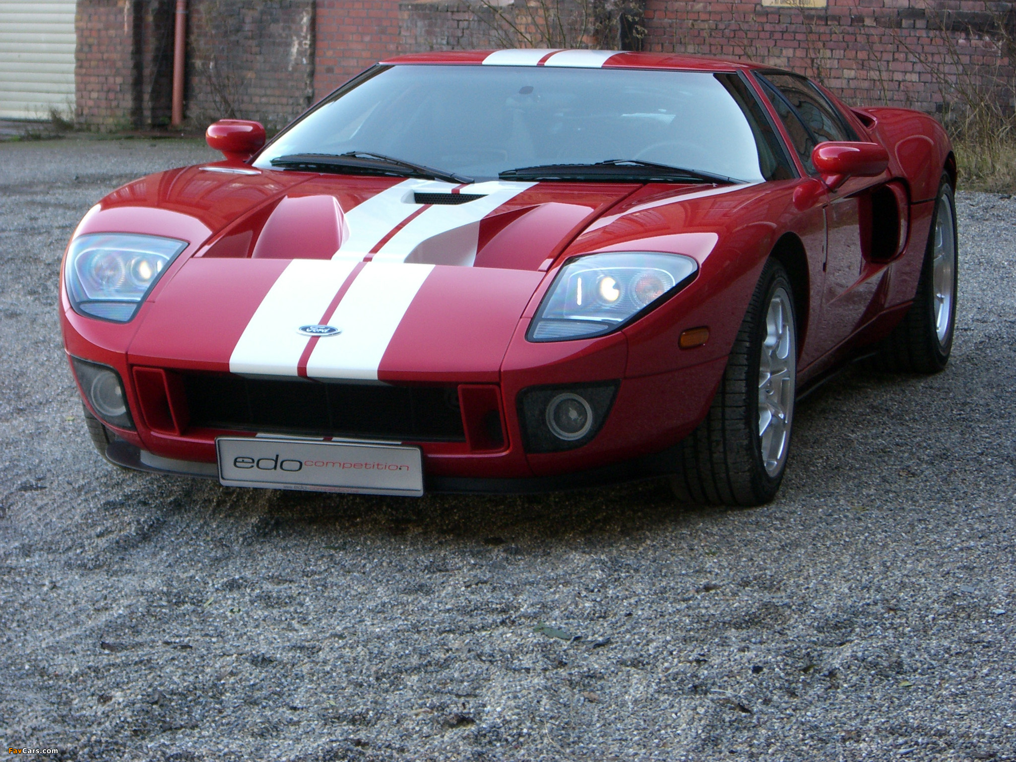 Edo Competition Ford GT 2007 photos (2048 x 1536)