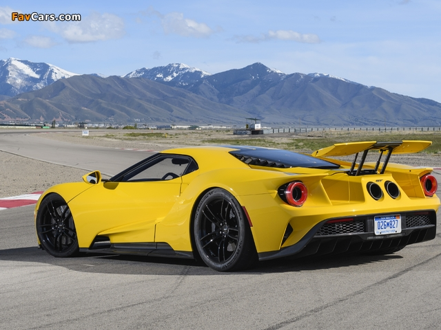 Ford GT 2017 wallpapers (640 x 480)