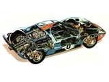 Images of Ford GT40 Le Mans Race Car 1966
