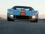 Pictures of Ford GT40 Gulf Oil Le Mans 1968