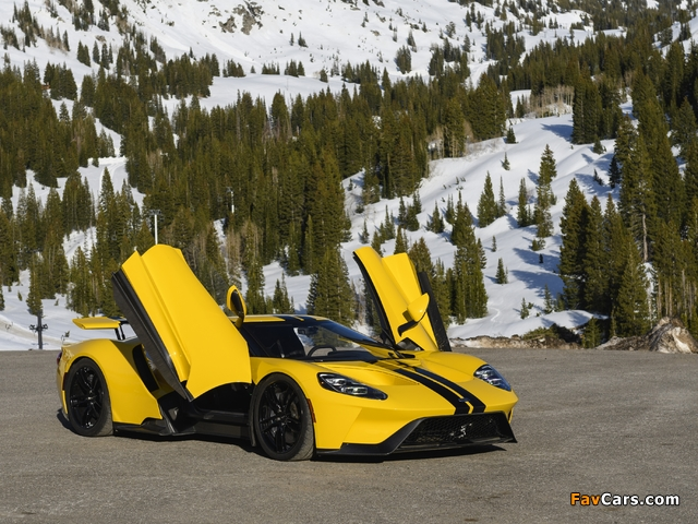 Pictures of Ford GT 2017 (640 x 480)
