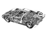 Ford GT40 Le Mans Race Car 1966 wallpapers
