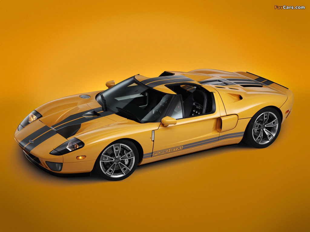 Ford GTX1 Concept 2005 wallpapers (1024 x 768)