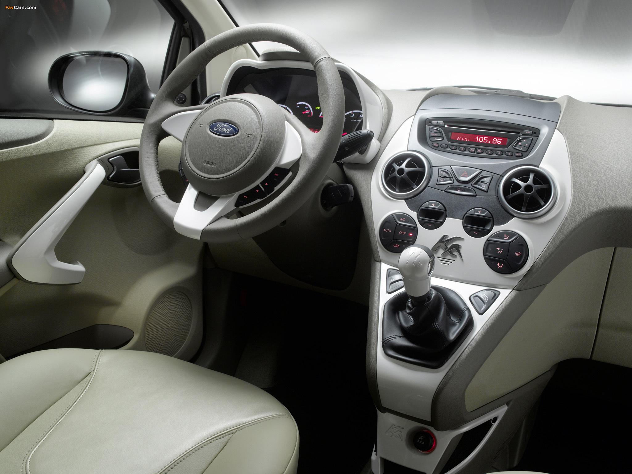Ford Ka Titanium+ 2010 images (2048 x 1536)